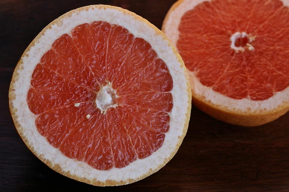 Rozkrojený grapefruit