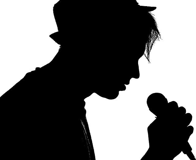 mladý zpěvák