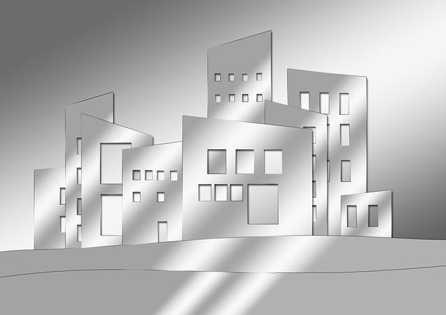 architektura města