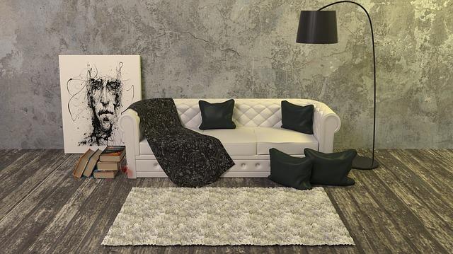 dekorace na gauči
