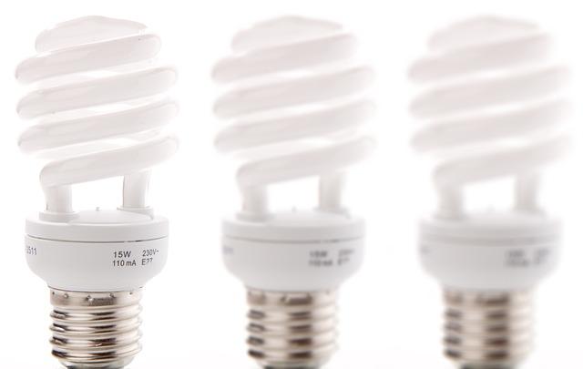 sestava úsporných žárovek