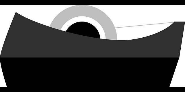 černá páska