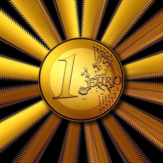 mince, 1 euro